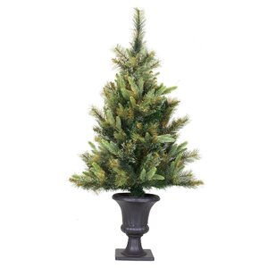 Cashmere 3.5' Green Pine Artificial Christmas Tree