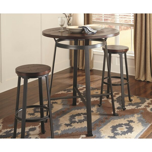 Dube 3 Piece Pub Table Set by Brayden Studio