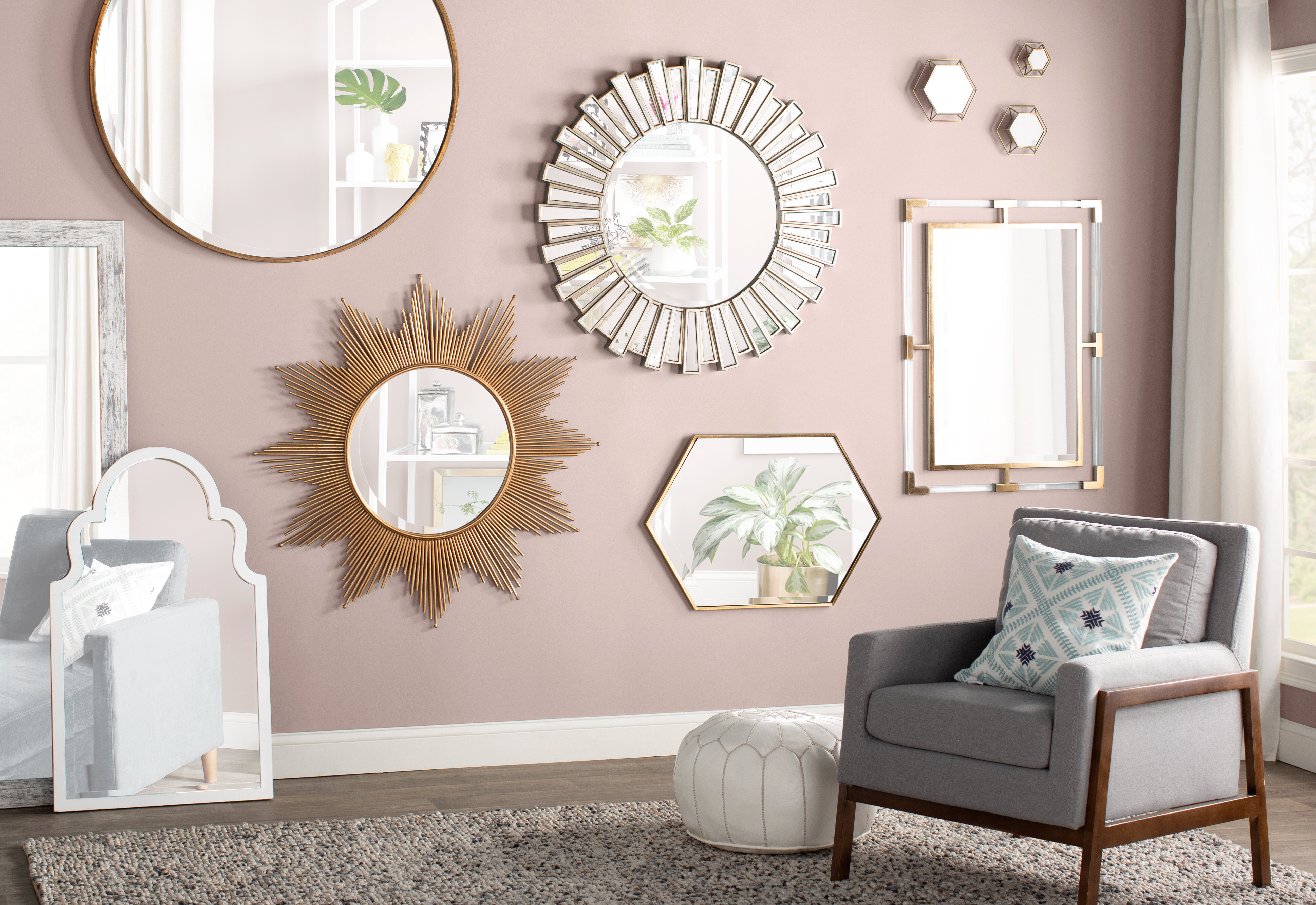 wall mirror idea