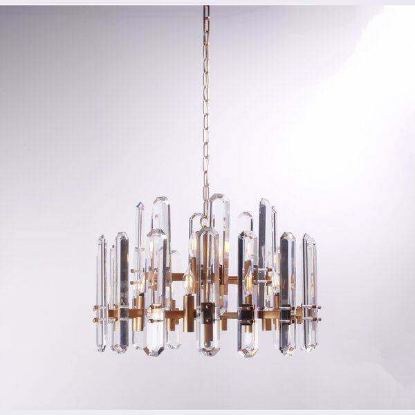 Adairsville 12-Light Candle Style Tiered Chandelier by Everly Quinn Everly Quinn