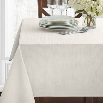 Gracie Oaks Pembrey Solid Color Tablecloth Wayfair