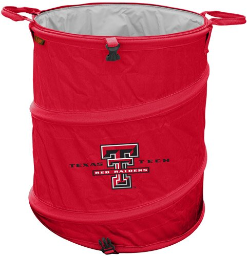 Collegiate Trash Can - Texas Tech by Logo Brands