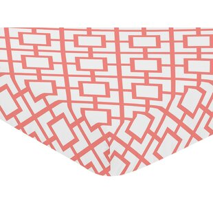 Comparison Mod Diamond Fitted Crib Sheet BySweet Jojo Designs