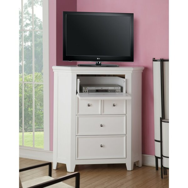 Louella Solid Wood TV Stand For TVs Up To 48