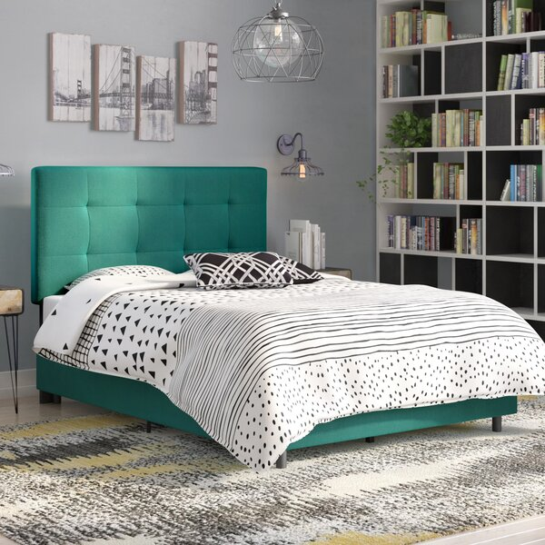 Zayne Upholstered Standard Bed by Ivy Bronx