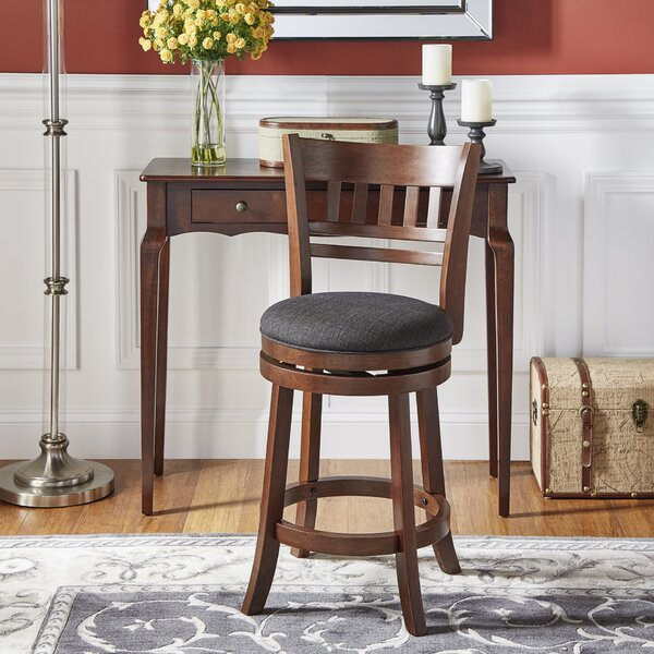 best sneakers a6a6d 4492e isaac swivel counter stool You'll Love in 2019 | Wayfair