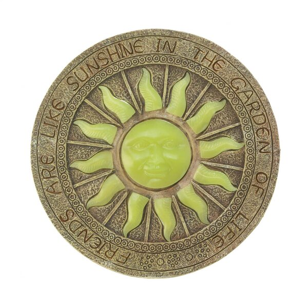 Bursting Sun Glowing Stepping Stone by Zingz & Thingz