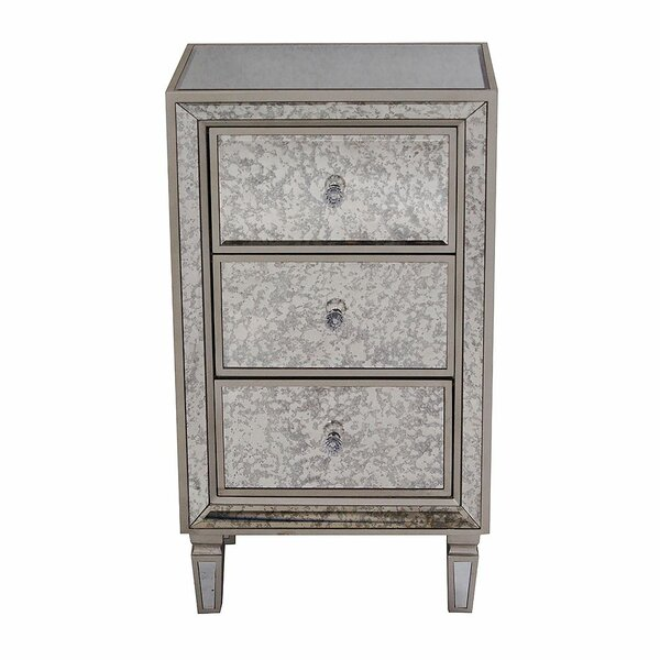 Remmington 3 Drawer Accent Chest by House of Hampton