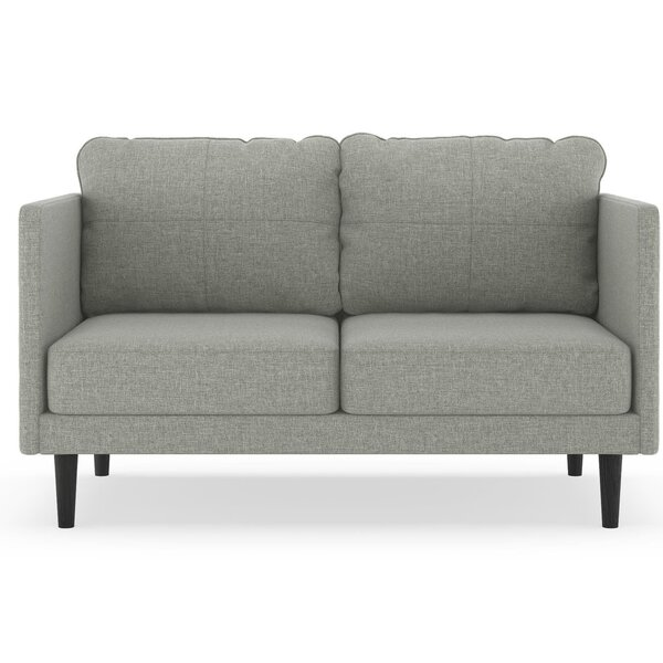 Rock Island Linen Weave Loveseat by Brayden Studio