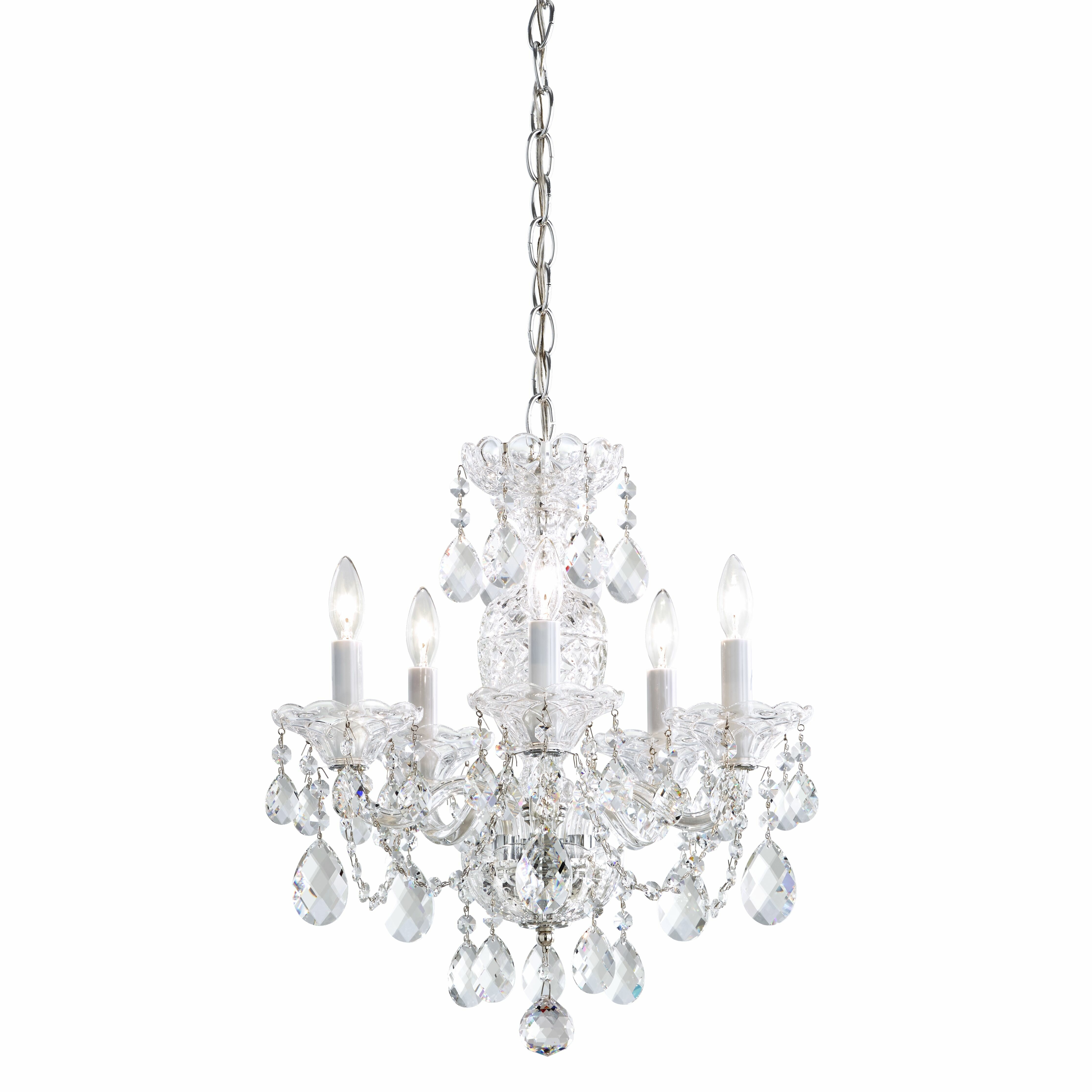 Schonbek wayfair sterling 5 light candle style chandelier by schonbek arubaitofo Image collections