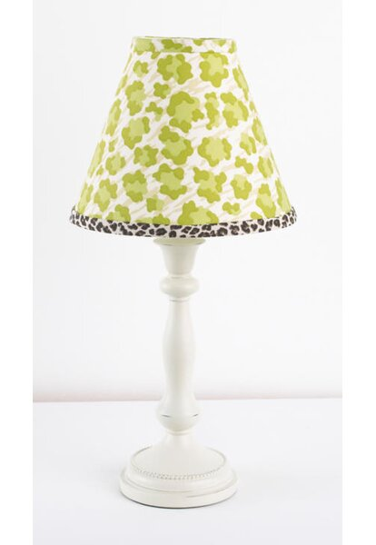 Here Kitty Kitty Stand 19 Table Lamp by Cotton Tale
