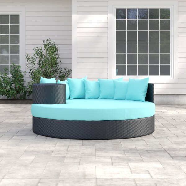 Fernando Patio Daybed with Cushions by Sol 72 Outdoor