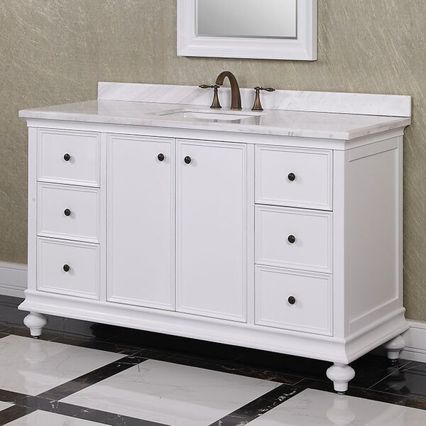 WB 60 Single Vanity Set by InFurniture