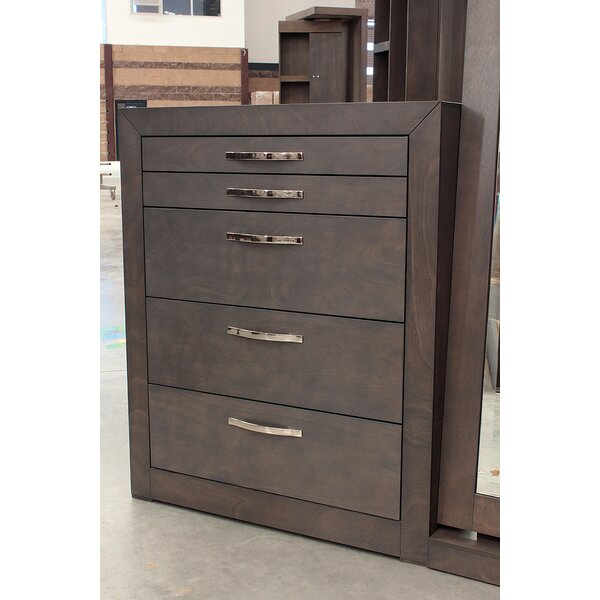 Puneeth 5 Drawer Dresser by Brayden Studio