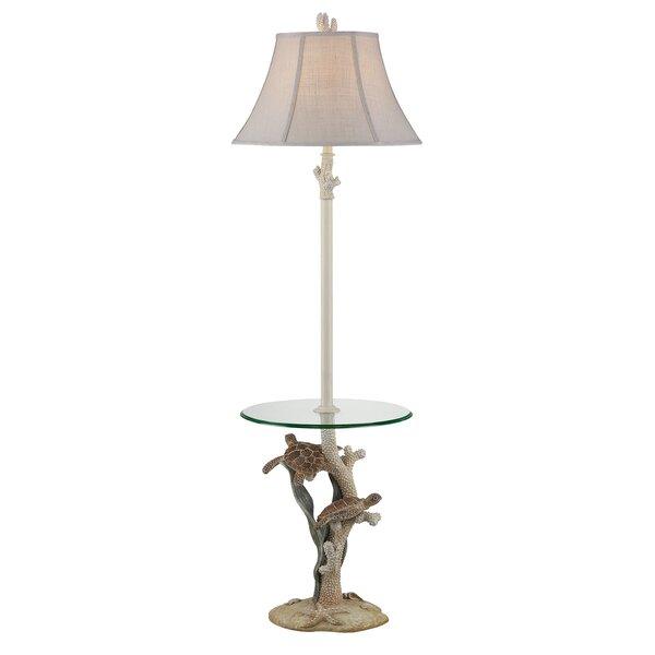 Humphrey Sealife 63 LED Traditional Floor Lamp by Highland Dunes