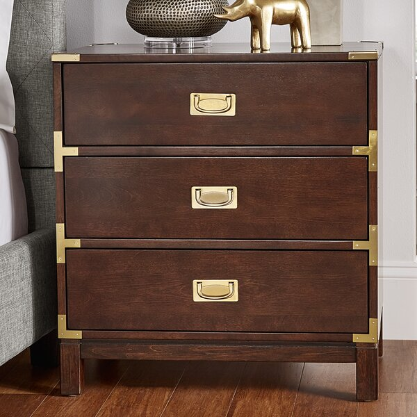 Eivind 3 Drawer Nightstand By Willa Arlo Interiors by Willa Arlo Interiors Cheap