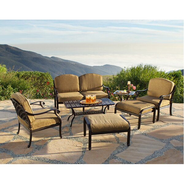 Sierre Loveseat with Cushions by Art Frame Direct