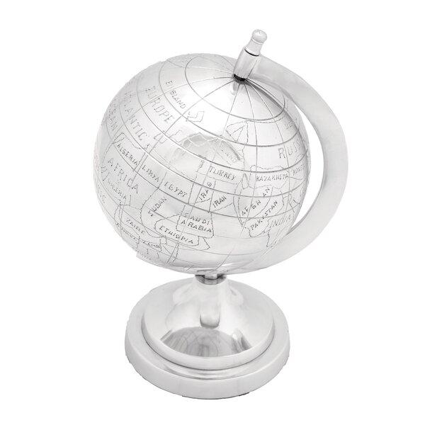 Aluminum Decor Globe by Cole & Grey