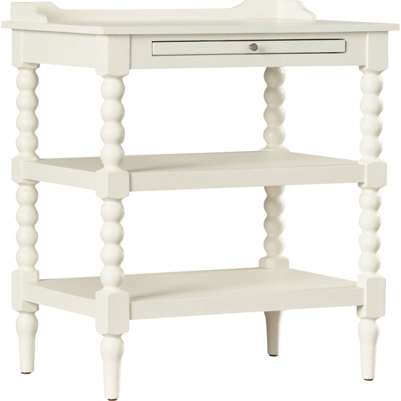 Baker 1 Drawer Nightstand - from Kelly Clarkson Home collection - come see more French country decor and furniture goodness on Hello Lovely! #frenchcountry #furniture #nightstands #kellyclarksonhome