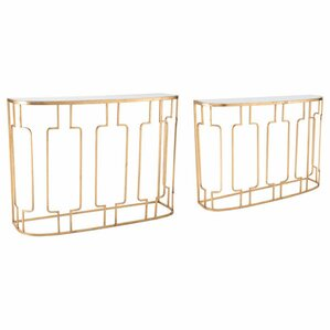 Yiwei 2-Piece Console Table Set by Everly Quinn