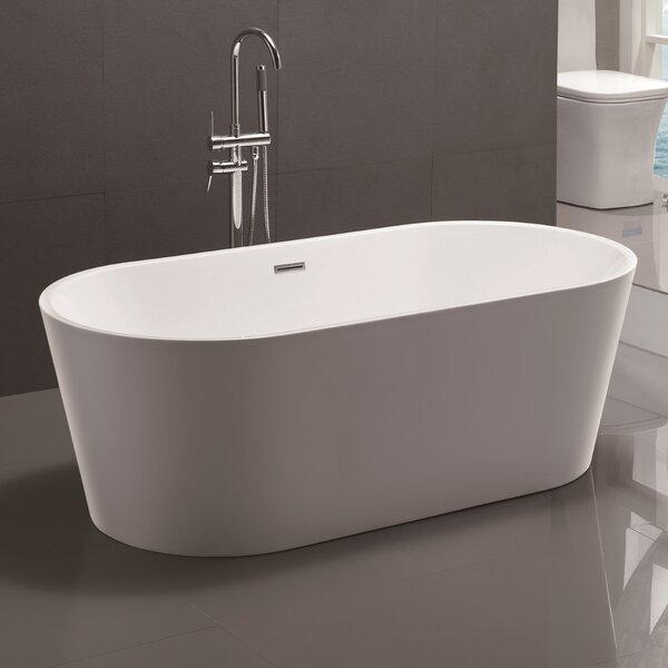 67.5 x 32 Freestanding Soaking Bathtub by Vanity Art