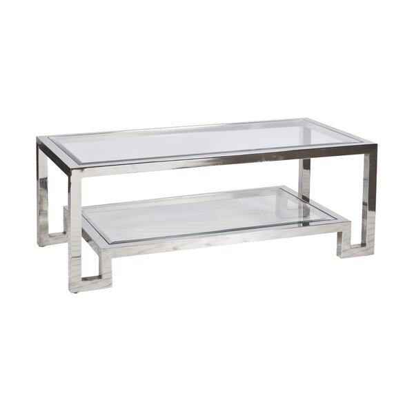 Sled Coffee Table With Storage By Worlds Away