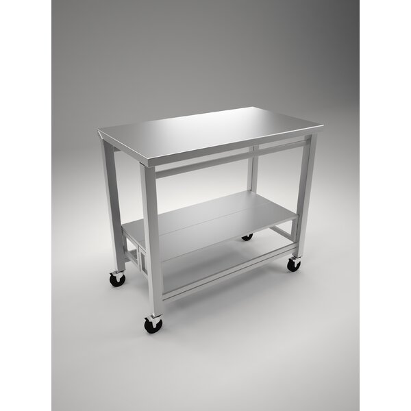 Hali Folding Prep Table by Orren Ellis