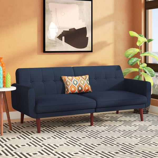 Jules Modern Velvet Convertible Sofa by Modern Rustic Interiors