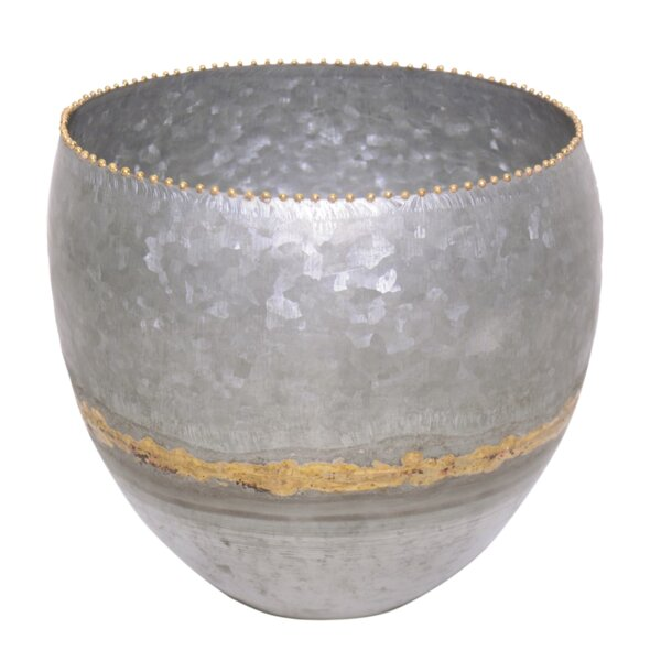 Iron Pot Planter by BIDKhome