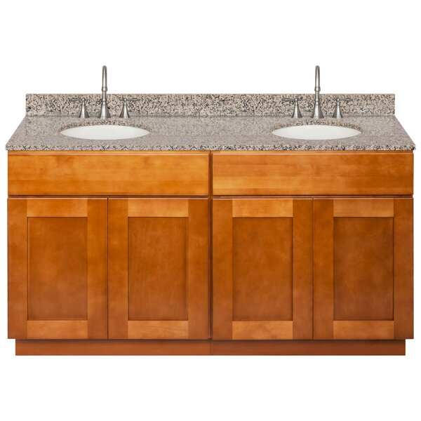Stribling 60 Double Bathroom Vanity Set by Winston Porter
