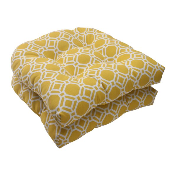 Rossmere Indoor/Outdoor Seat Cushion (Set of 2) by Pillow Perfect