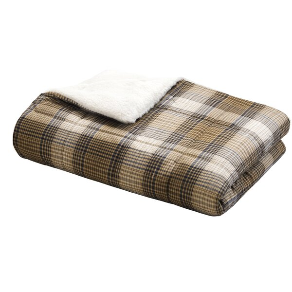 Woolrich Lumberjack Down Alternative Softspun Throw by Woolrich