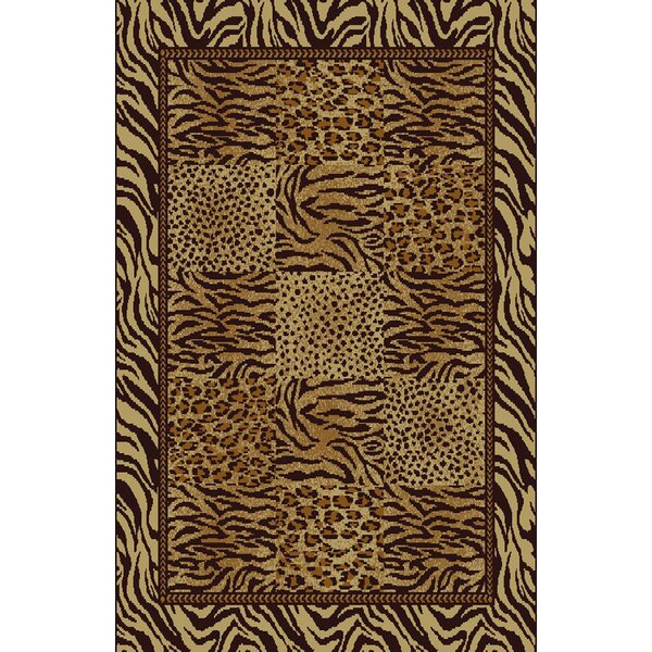 Christa Beige/Brown Area Rug by Bloomsbury Market