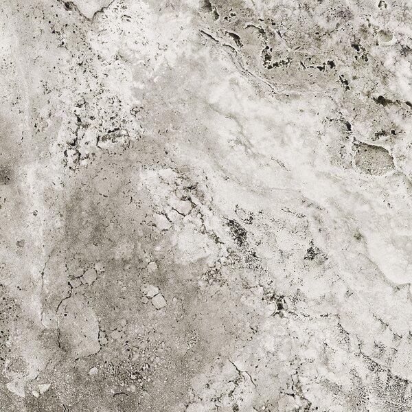 Pietra Roma 6 x 6 Porcelain Field Tile in Gray by Tesoro