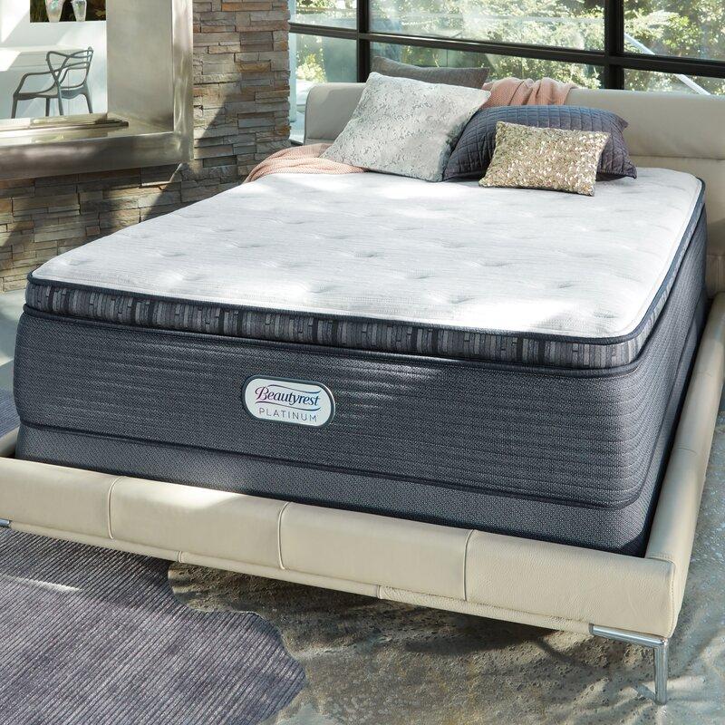 Simmons Beautyrest Beautyrest Platinum 15 Plush Pillow Top