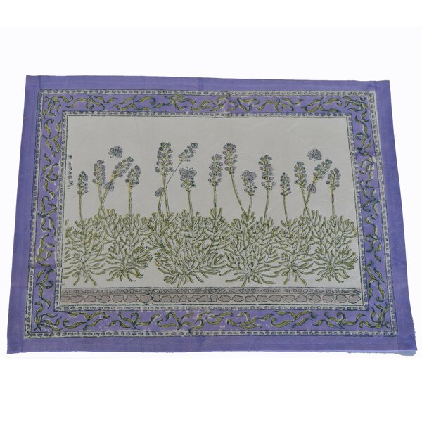 Lavender Placemat (Set of 6) by Couleur Nature