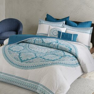 Saravia 7 Piece Cotton Comforter Set