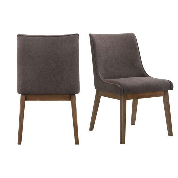 Sequim Upholstered Arm Chair in Charcoal (Set of 2) by Corrigan Studio Corrigan Studio