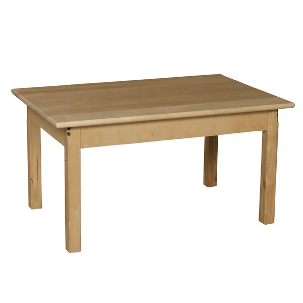 36 x 24 Rectangular Activity Table by Wood Designs