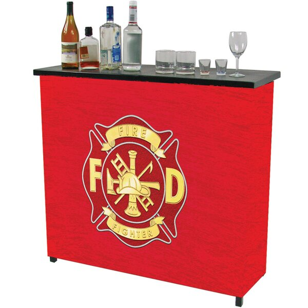 Fire Fighter Bar by Trademark Global
