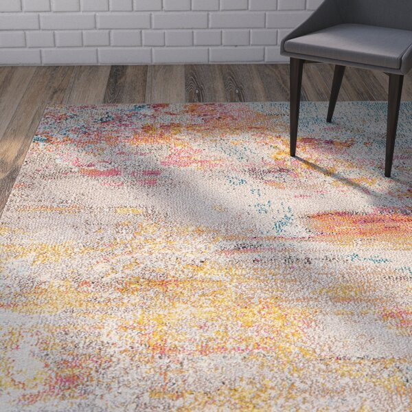 Shugart Sealife Multi-color Area Rug by Wrought Studio