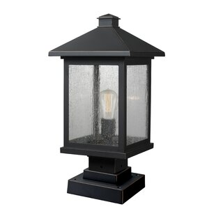 Find for Leroy Contemporary Outdoor 1-Light Pier Mount Light By 17 Stories