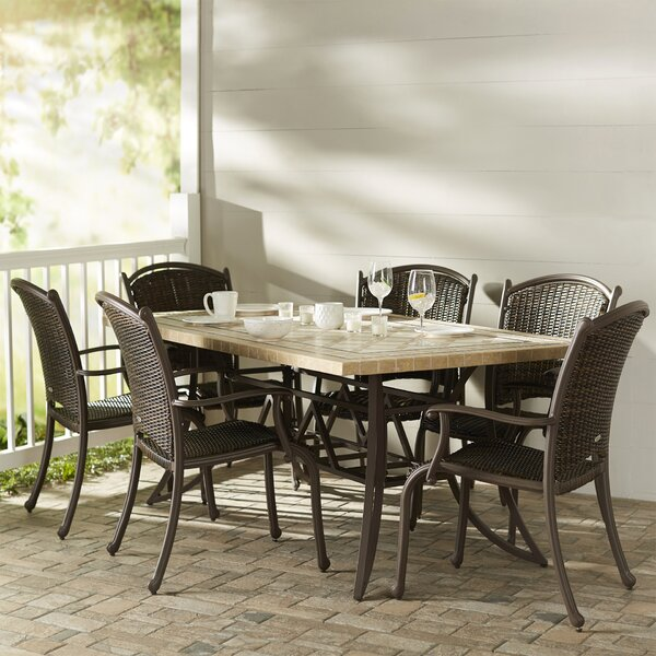 Colucci 7 Piece Dining Set by Darby Home Co