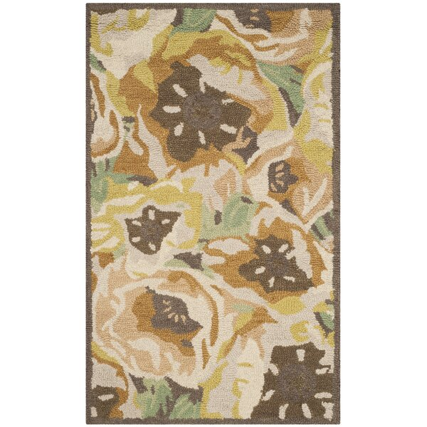 Hand-Tufted Gold Area Rug by Martha Stewart Rugs