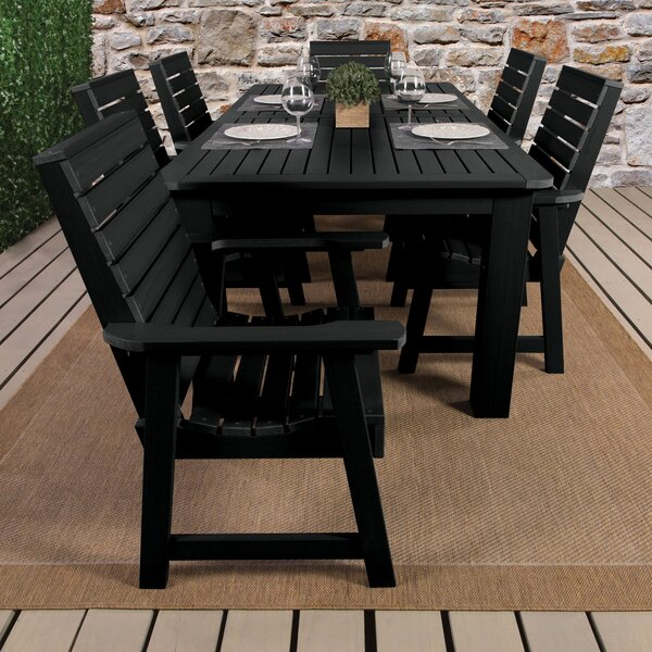 Shondra 7 Piece Rectangular Dining Set by Darby Home Co