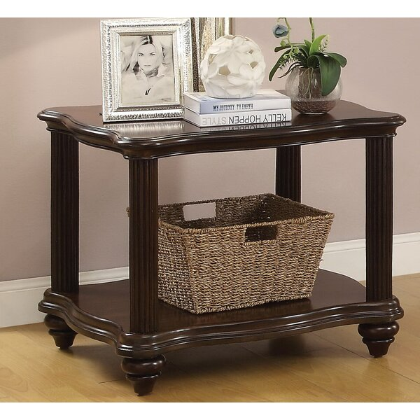 Ortega End Table by Canora Grey
