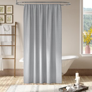 Grand Encampment Gray Shower Curtain