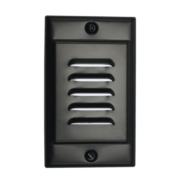 Vertical Faceplate LED Step Light by NICOR Lighting