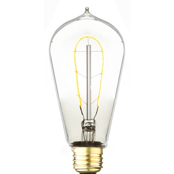 3W E26 LED Vintage Filament Light Bulb by Aspen Brands
