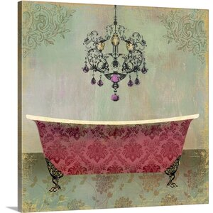 Boudoir Bath II by PI Studio Painting Print on Wrapped Canvas by Great Big Canvas
